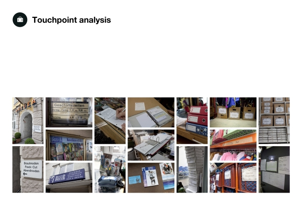 Touchpoint analysis
